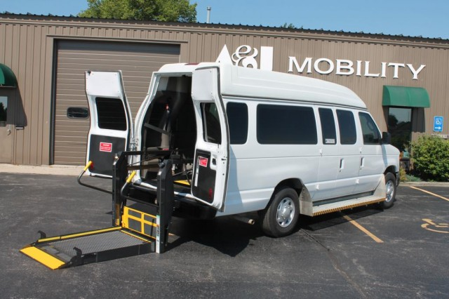 Bus For Sale: 2012 Ford E-Series Van E-250 - Paratransit Rear Entry -