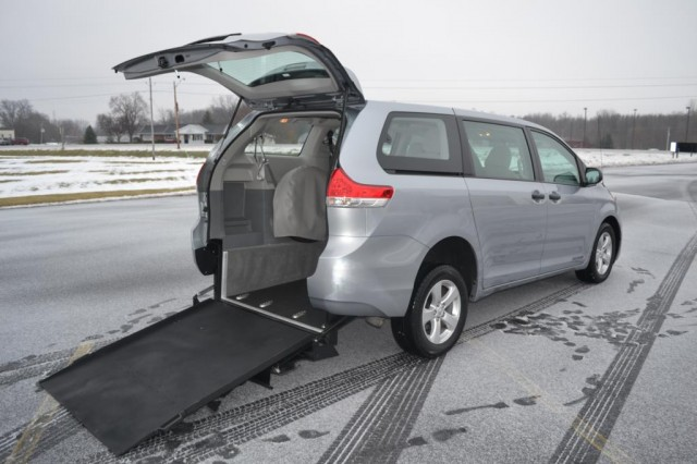 Bus For Sale: 2014 Toyota Sienna FWD - Super Wide Conversion -