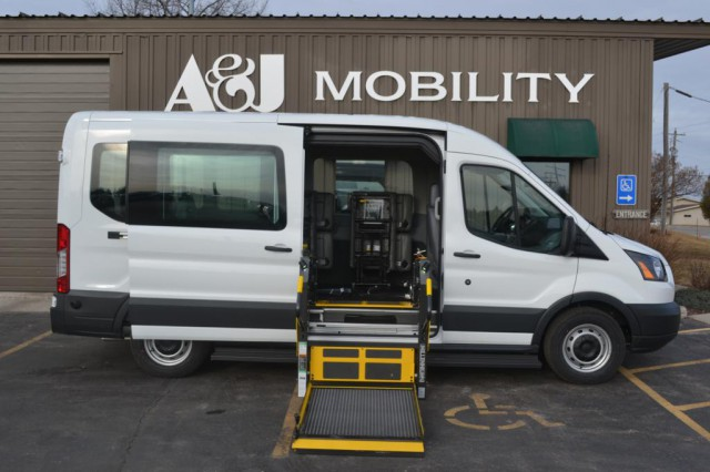Bus For Sale: 2015 Ford Transit 350 - Para-Transit SE - Pull tested seating! Top Quality Design in the Industry! Multiple Floor Plans are available.